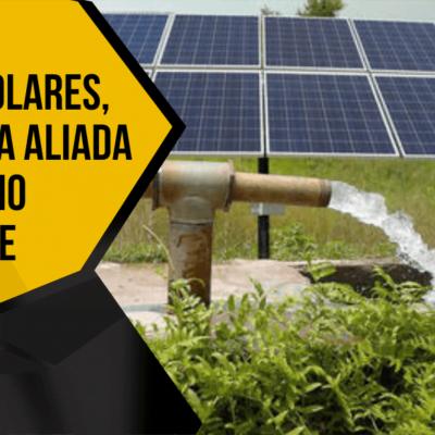 Bomba de água movida a energia solar