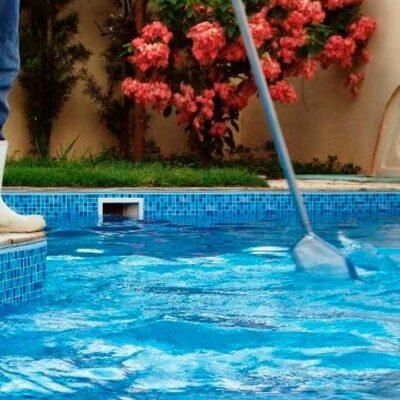 acessórios e equipamentos para piscinsas